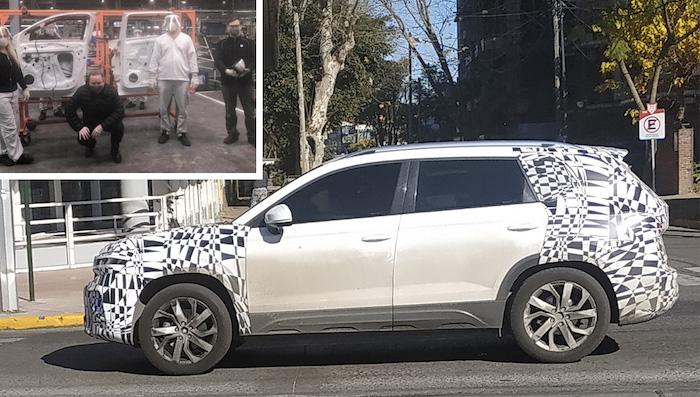 Обещанный России кроссовер Volkswagen показался на новых фото (тот, что дешевле Tiguan)