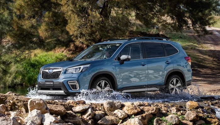 2021 subaru forester changes configuration