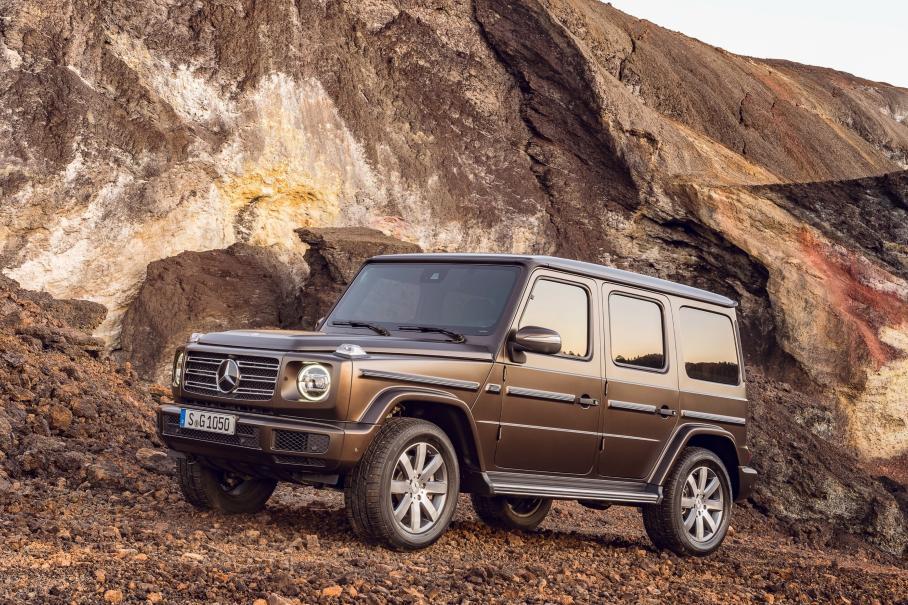 Mercedes-Benz отзывает в России свыше 1,6 тыс. машин G-класса