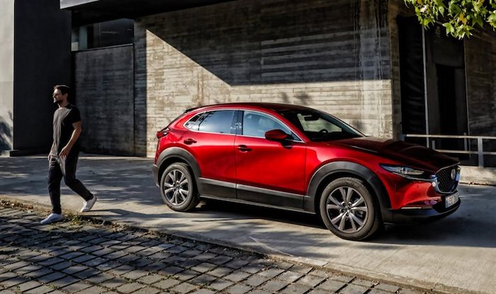 thumb2 mazda cx 30 2020 exterior front view compact crossover