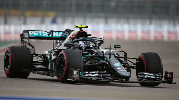 valtteri bottas has two weapons in the race they