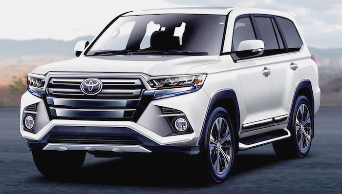 Новый Toyota Land Cruiser 300 получит 'заряженную' GR-версию
