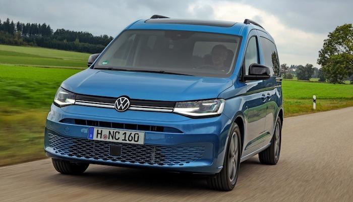 volkswagen caddy v sales start 2