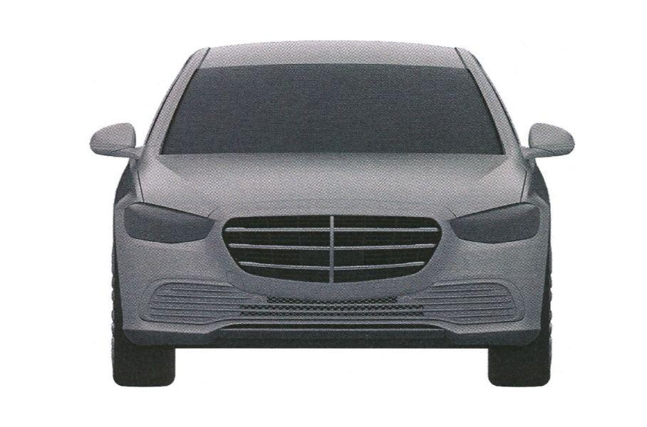 zapatentovan dizajn novogo mercedes benz e class dlya rf