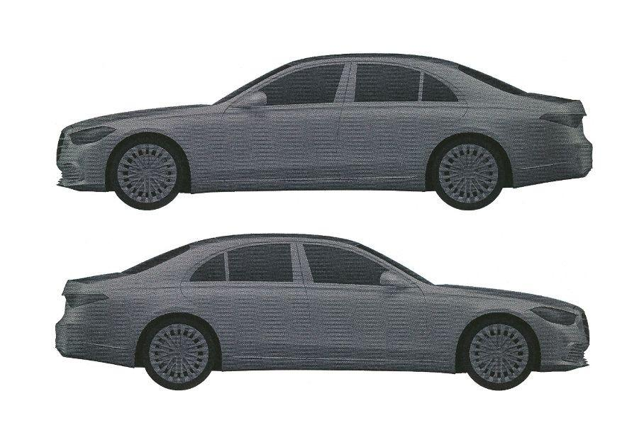 zapatentovan dizajn novogo mercedes benz e class dlya rf1