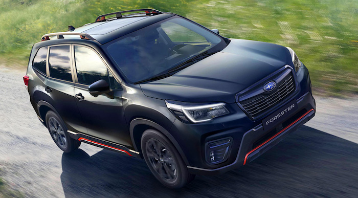 Subaru представила спортивный Форестер: цены в России - Авто Mail.ru