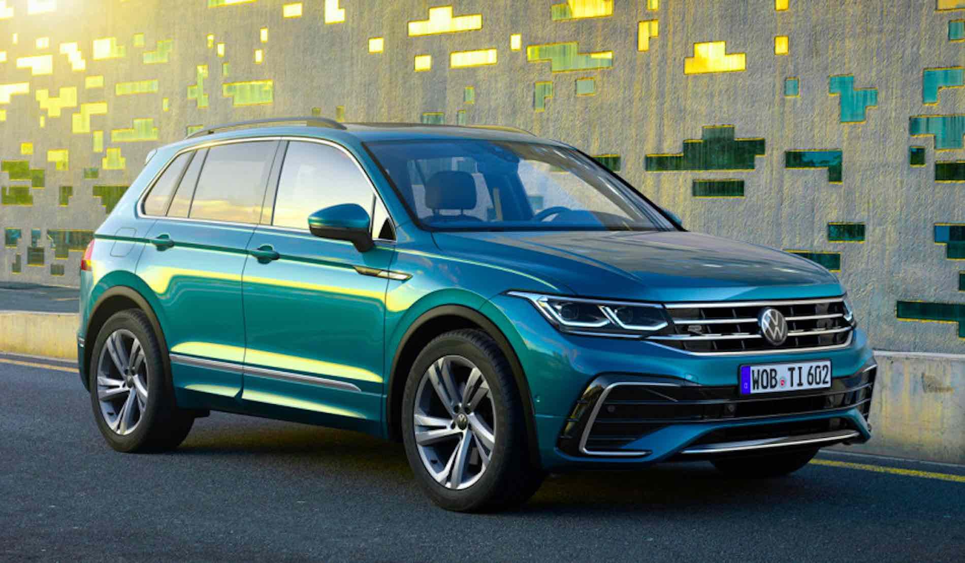 Улучшенный VW Tiguan в РФ останется без дизеля