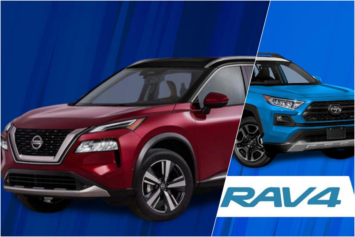 x trail vs rav4