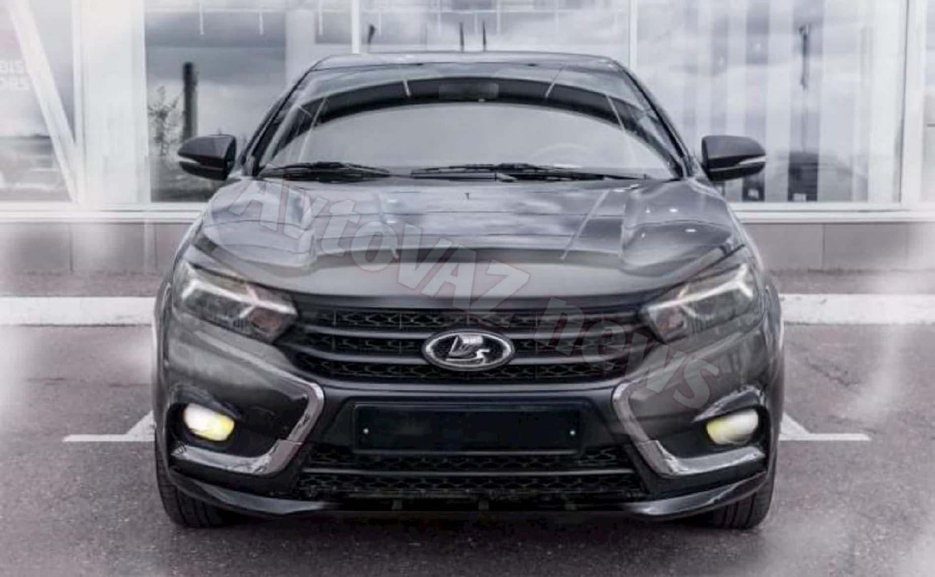 Lada Vesta Facelift показали на первом фото.  новые подробности