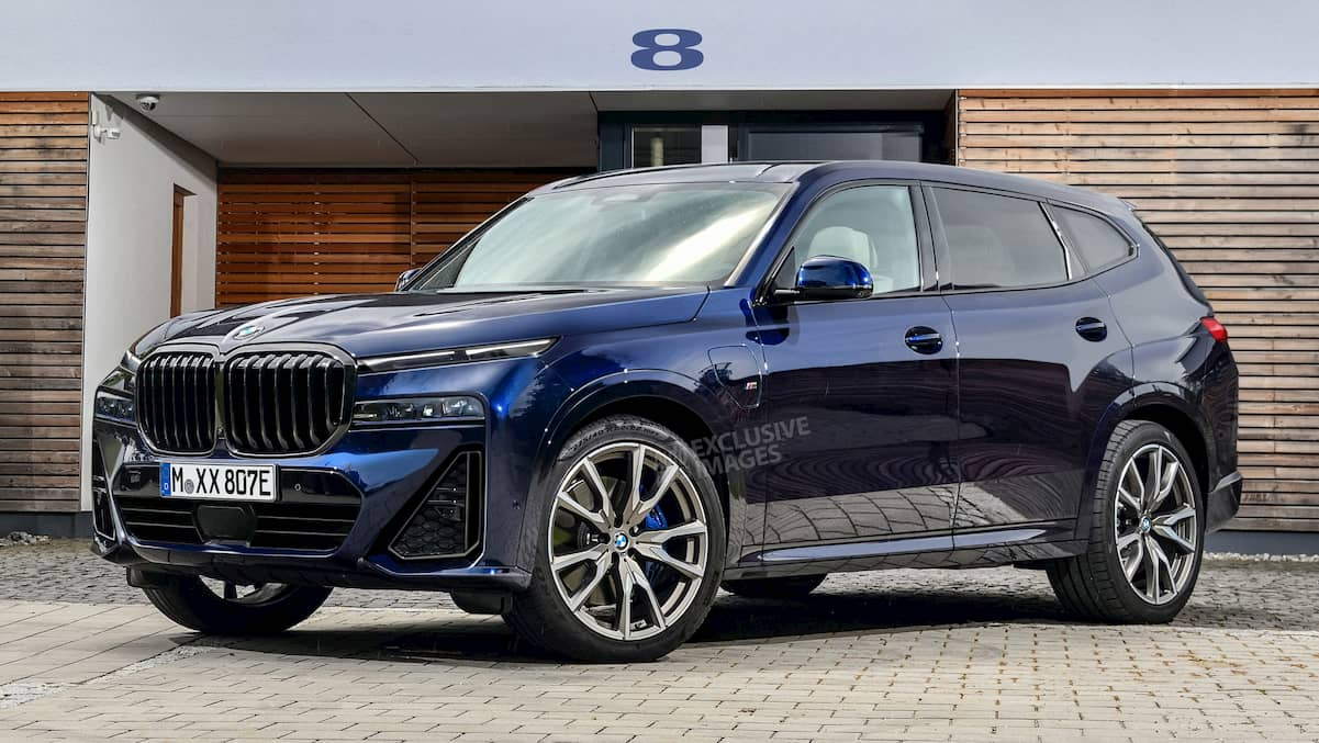 bmw x8 suv exclusive images 1