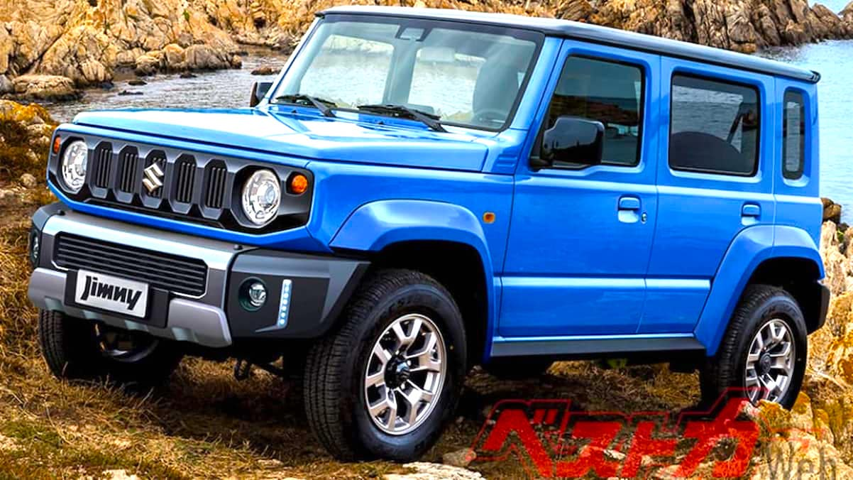 1.2022 Suzuki Jimny five Door 1001 565 1