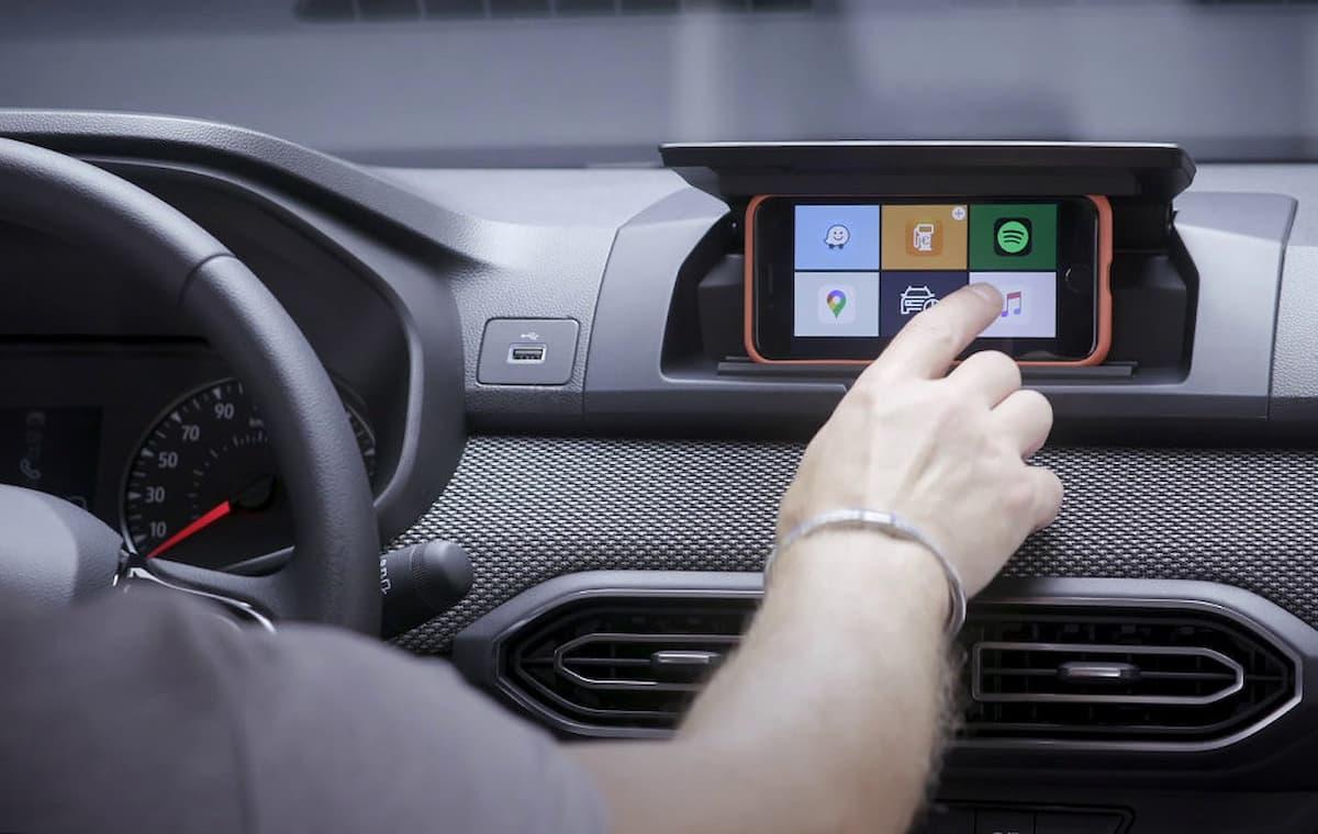 2021 Dacia Media Control system 1