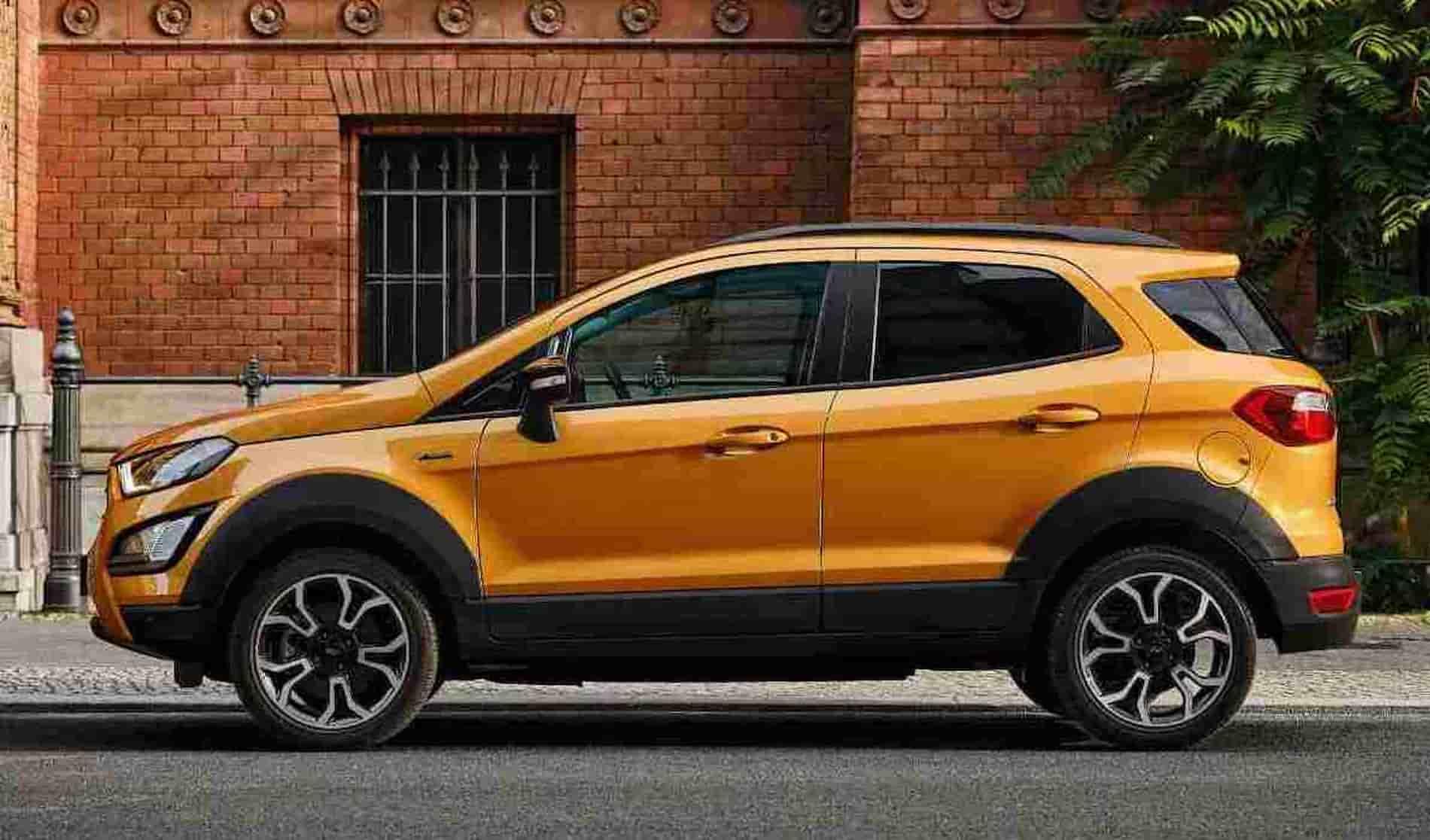 Ford EcoSport Active Specs 1