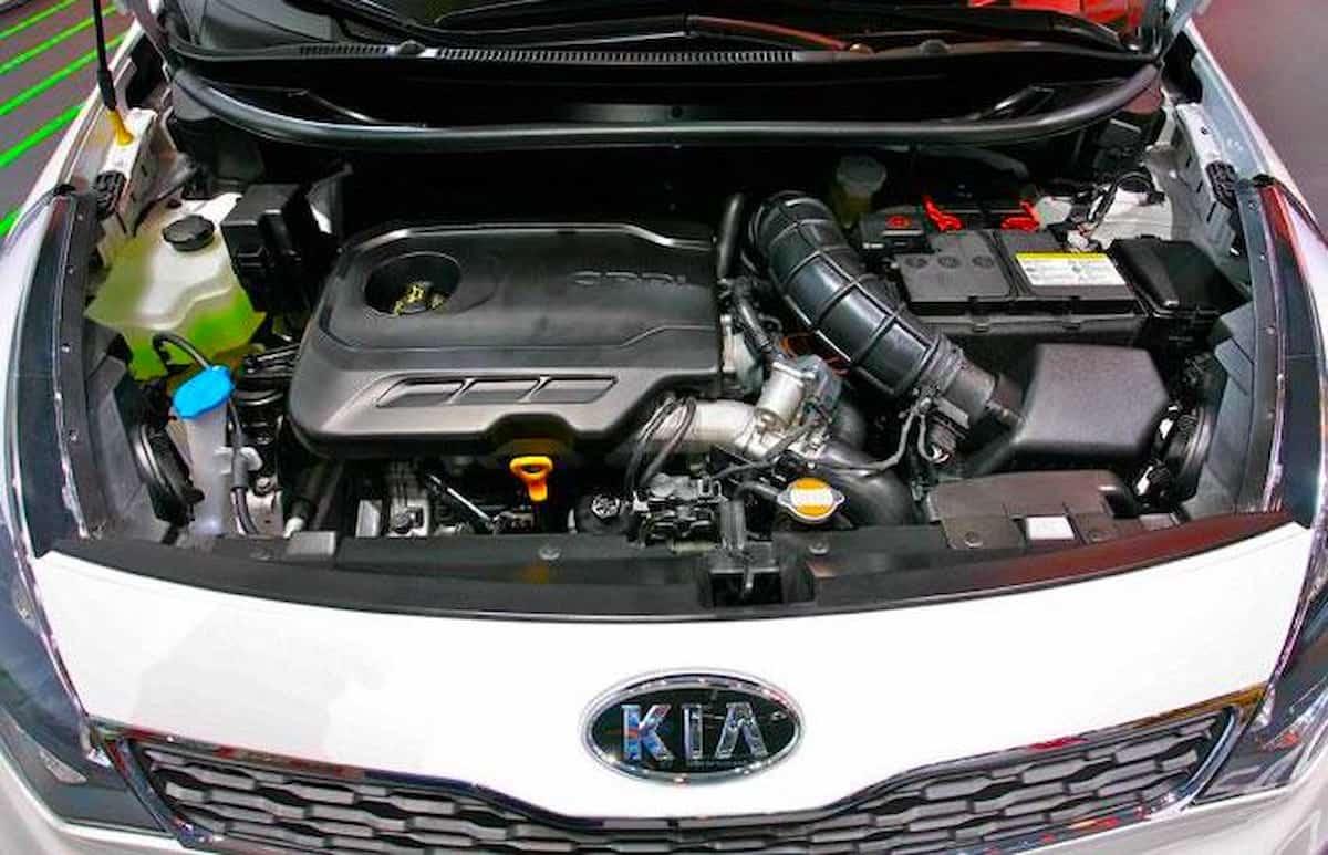 2012 Kia Rio Engine Picture