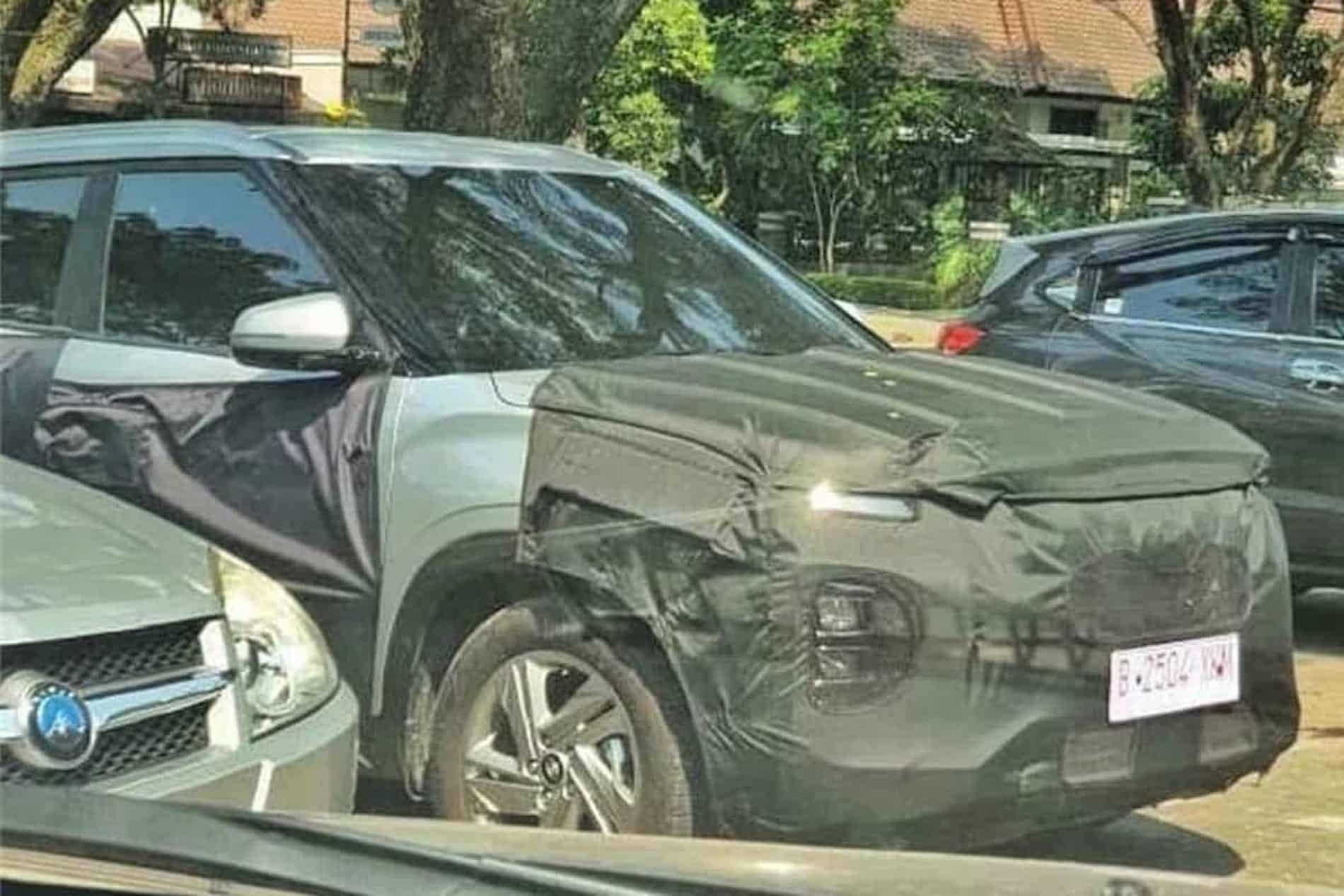 2022 Hyundai Creta Facelift spied