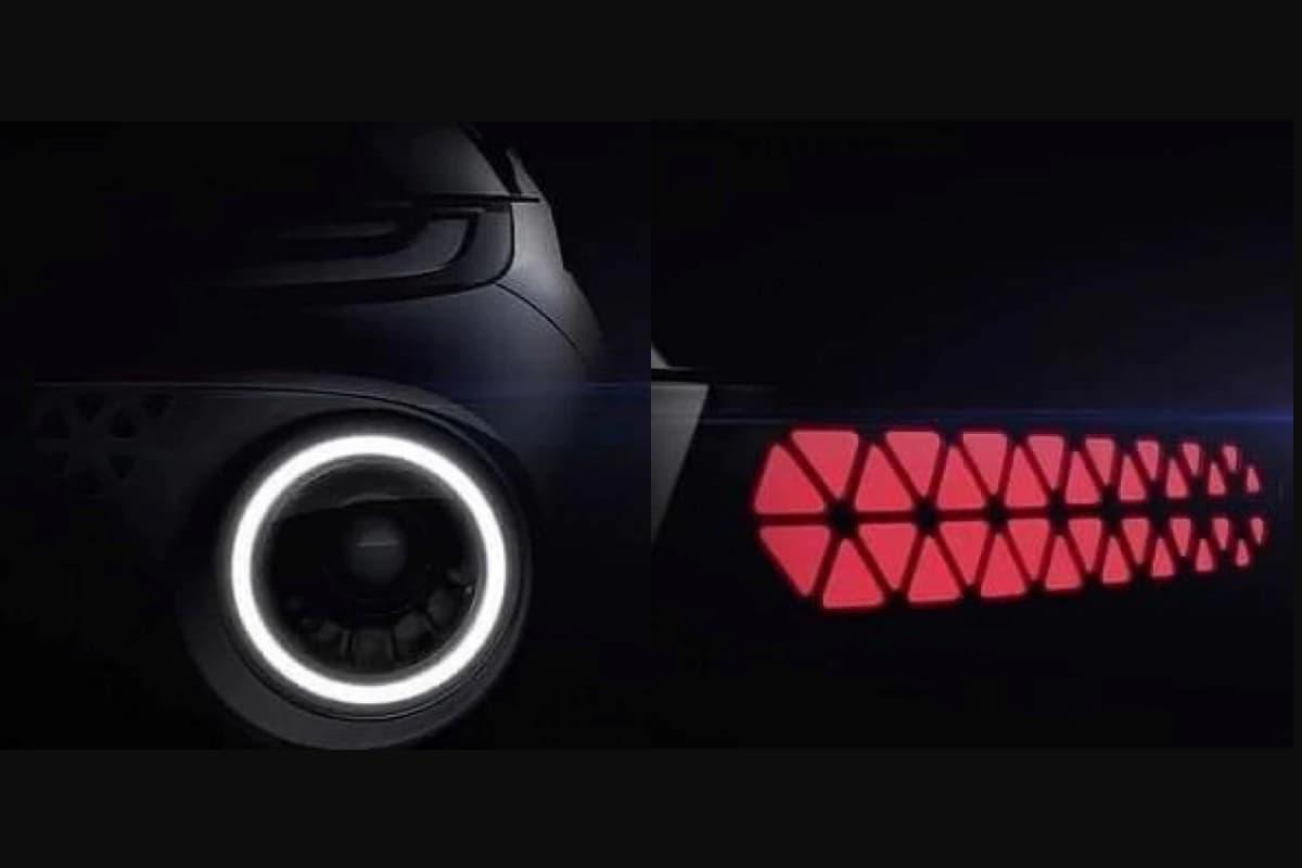 Hyundai AX1 Headlamp Tail lamp teased