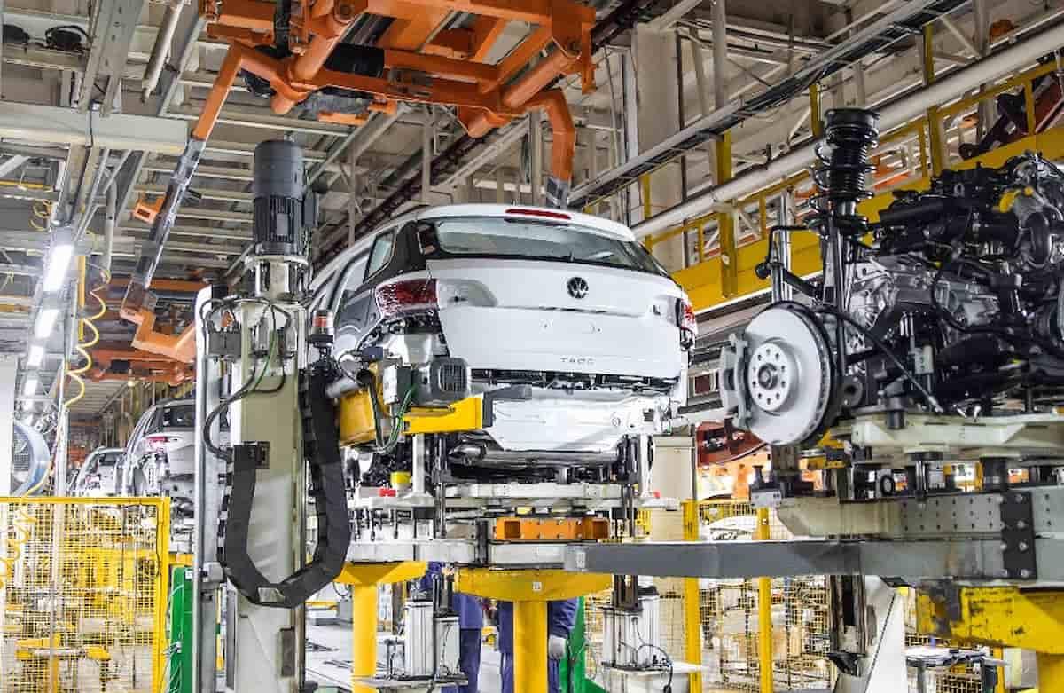 VW Taos Производство 1 1