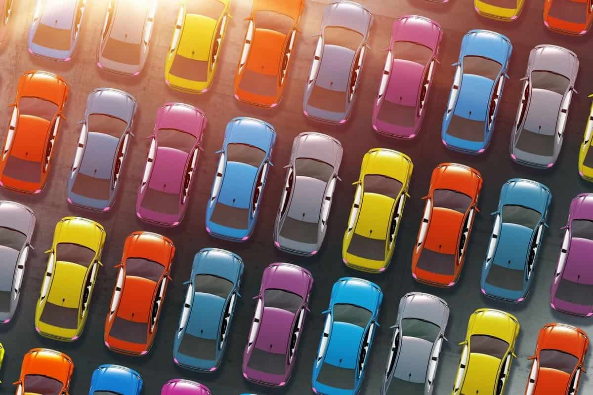 cars with different colours 3c12