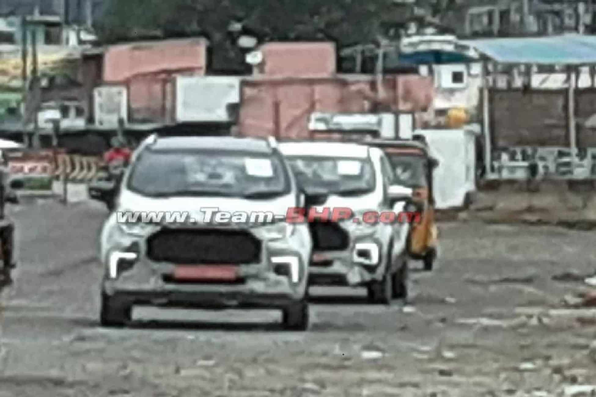 2022 Ford EcoSport front spied