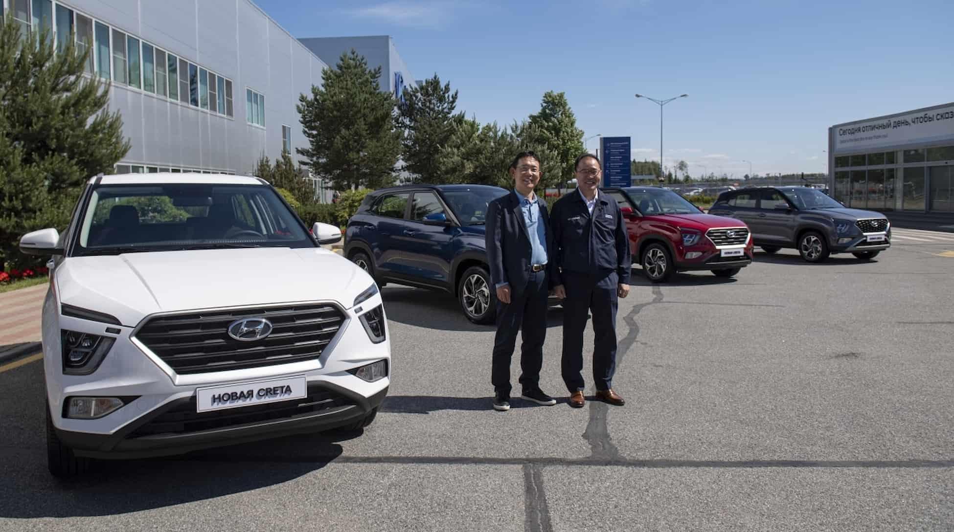 Hyundai представляет новое поколение компактного кроссовера Creta 1 1