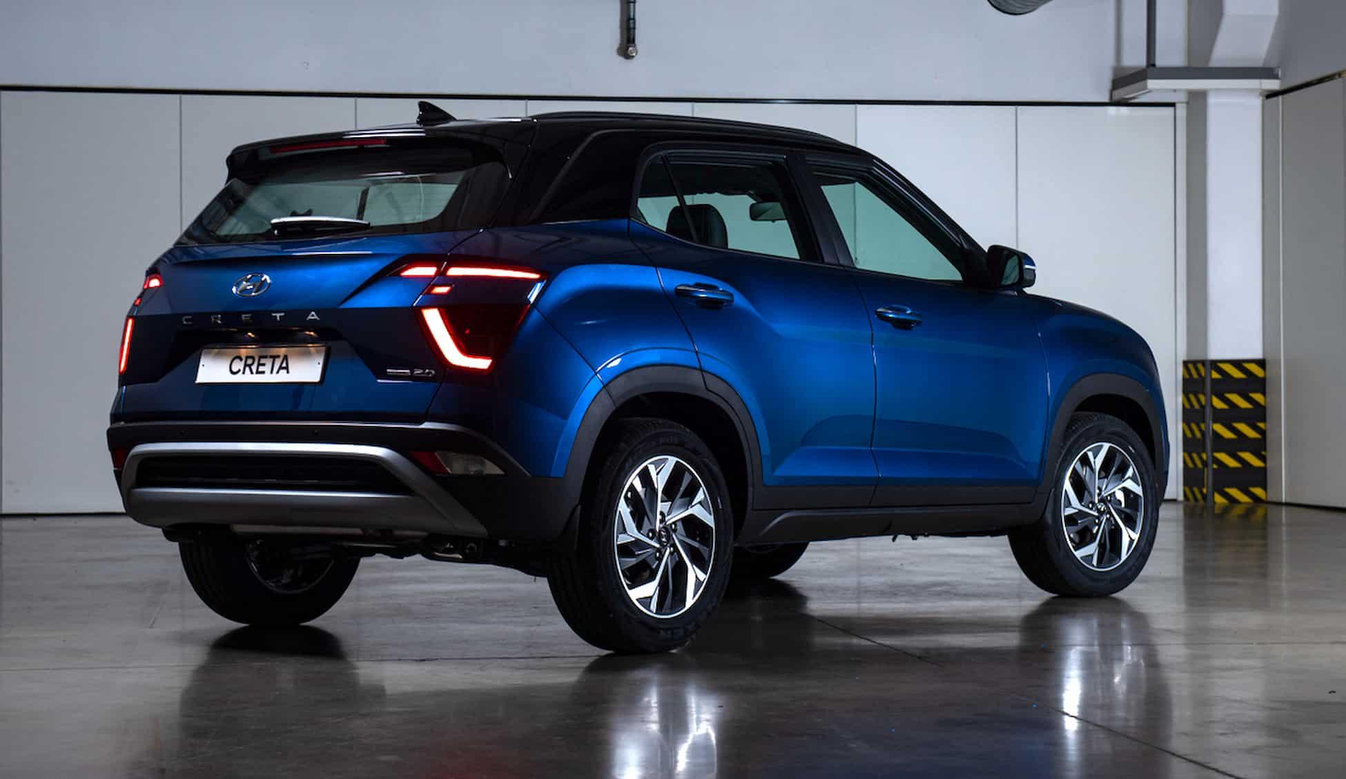 Hyundai представляет новое поколение компактного кроссовера Creta 28