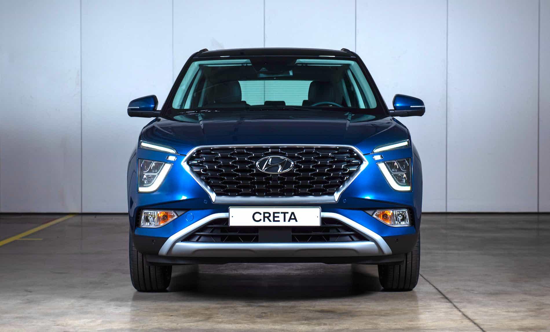 Hyundai представляет новое поколение компактного кроссовера Creta 34
