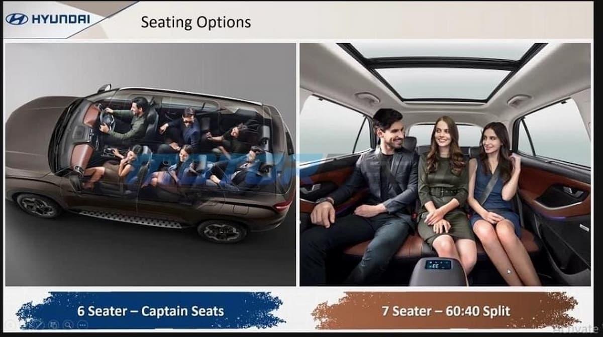Hyundai Alcazar Brochure Seating