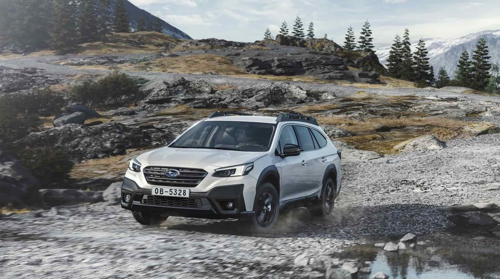 2021 Subaru Outback EU Spec 12
