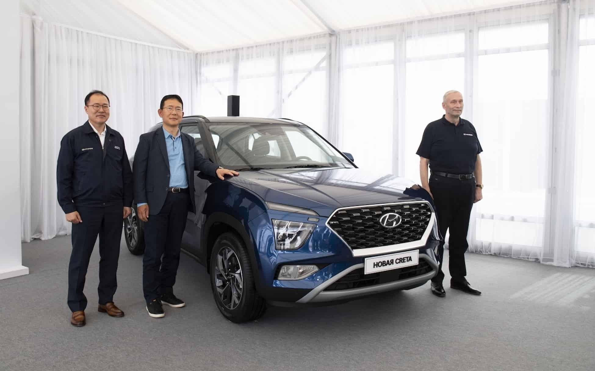 Hyundai представляет новое поколение компактного кроссовера Creta