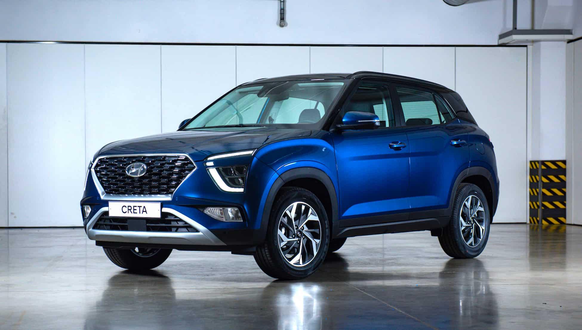Hyundai представляет новое поколение компактного кроссовера Creta 3