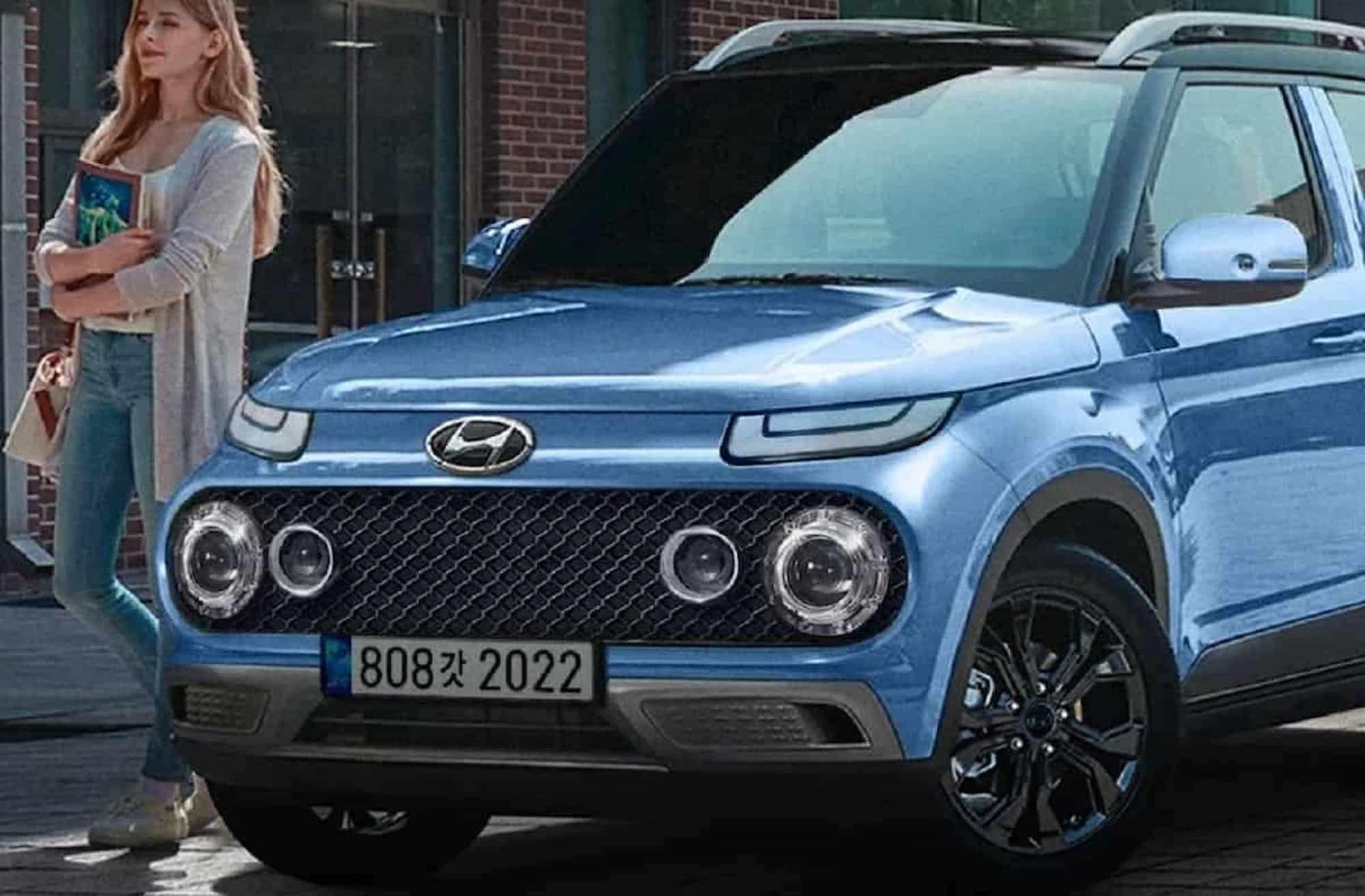 Hyundai Casper rendering