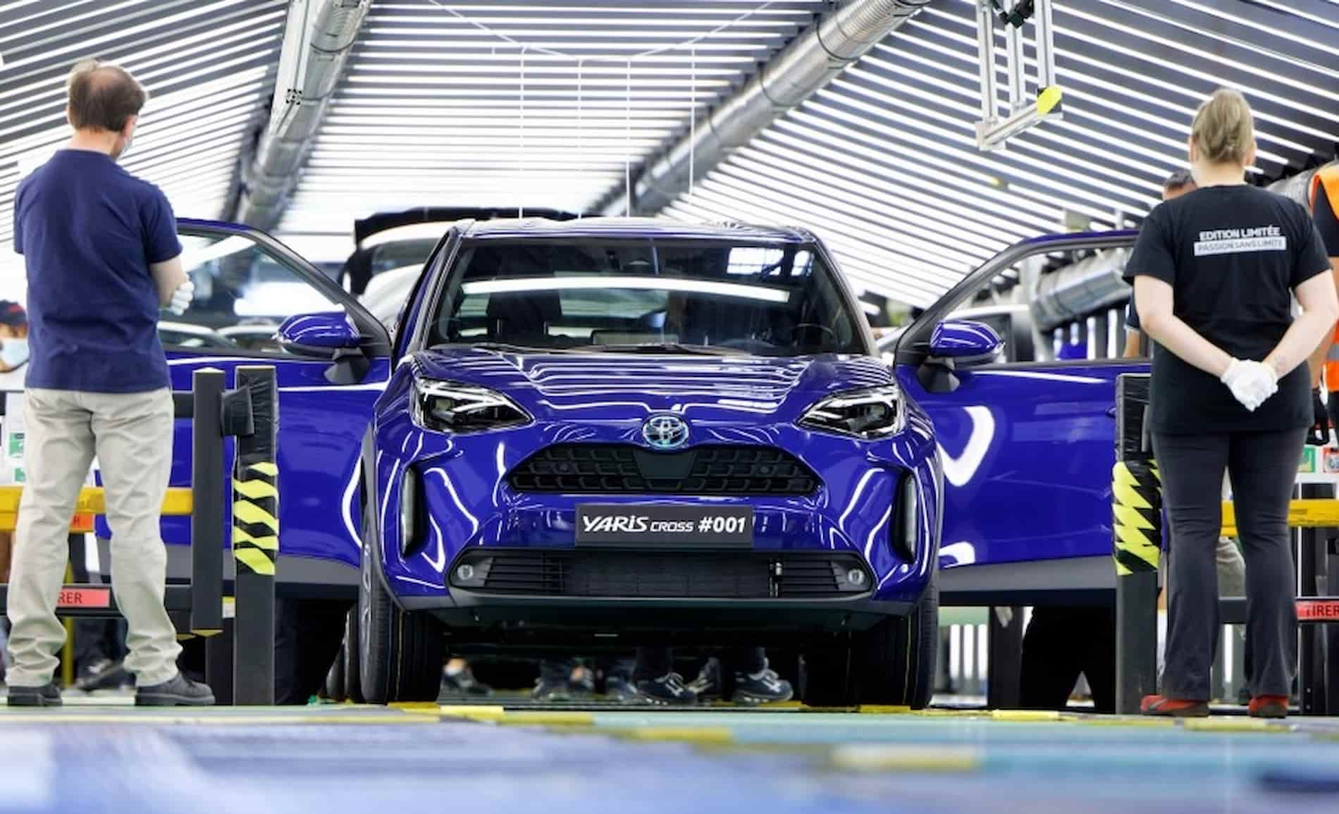 Toyota Yaris Cross 2021 production Europe 2