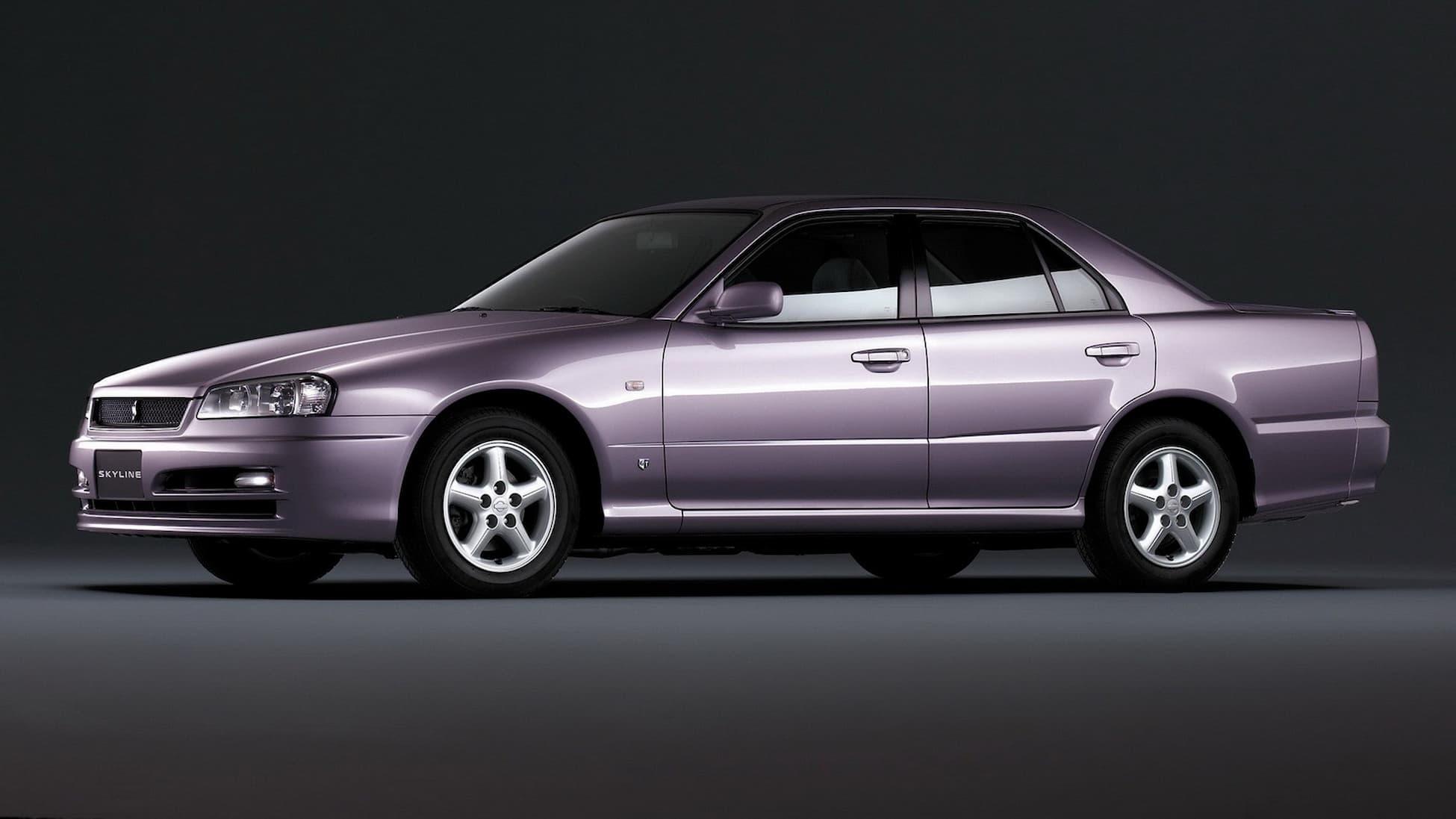 nissan skyline 25gt x turbo sedan r34 051998 082000