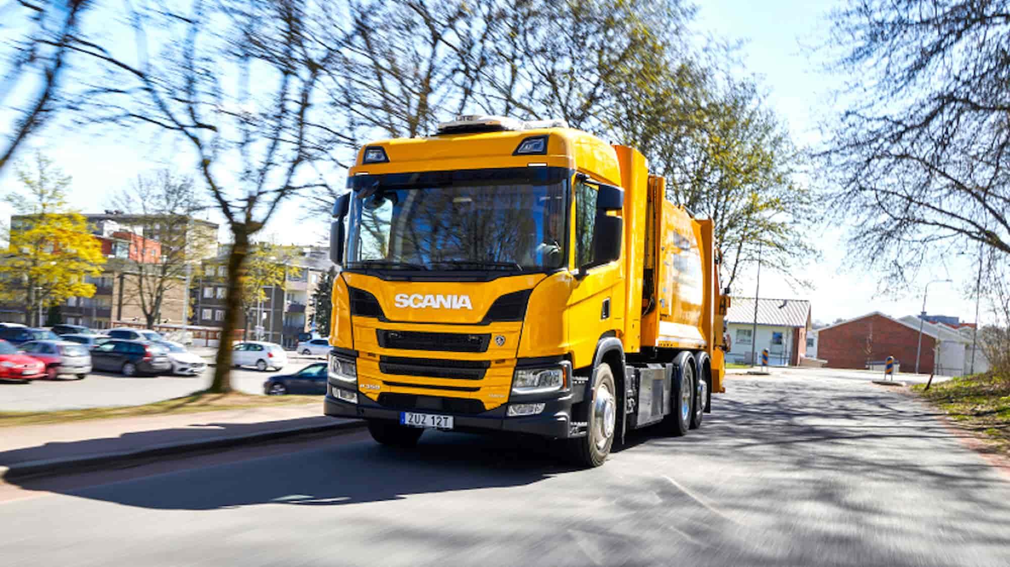 Scania Hydrogen Garbage truck 2