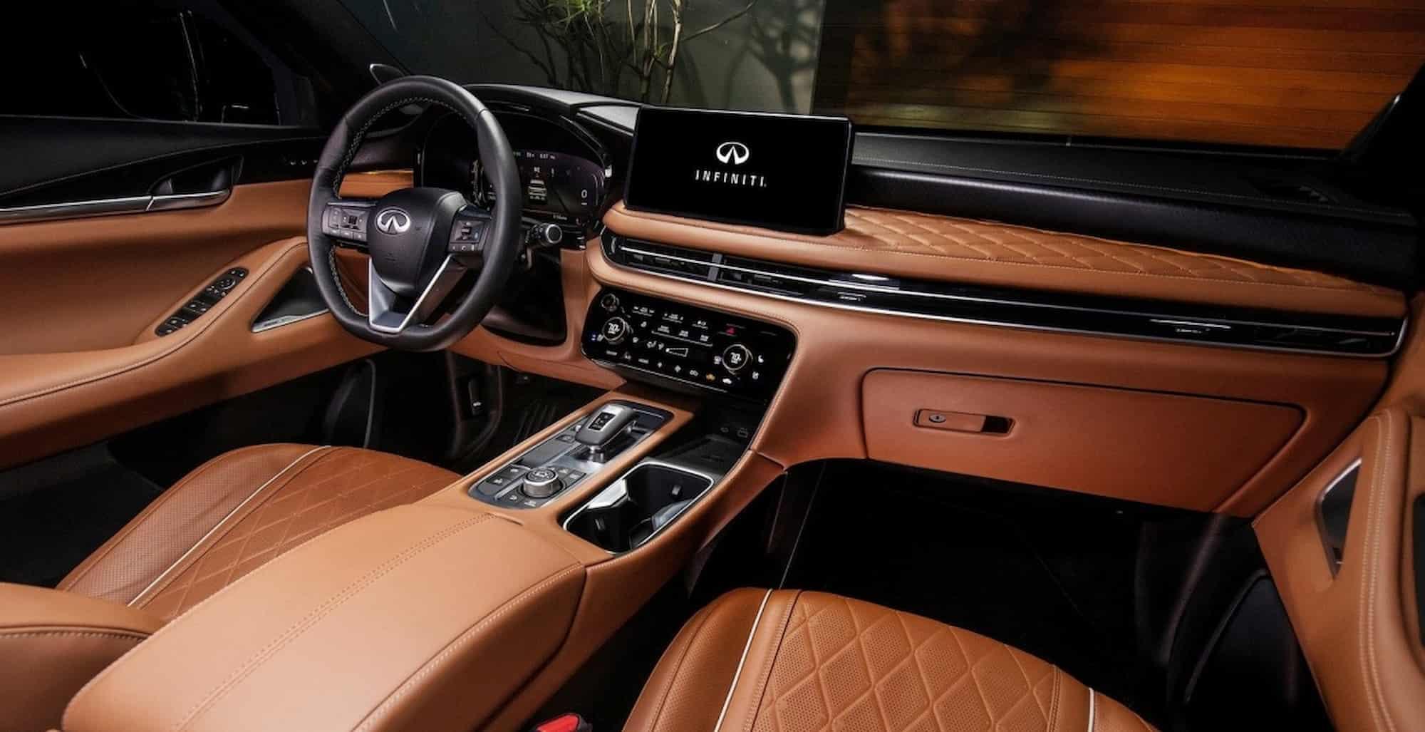 infiniti qx60 2021 interior s