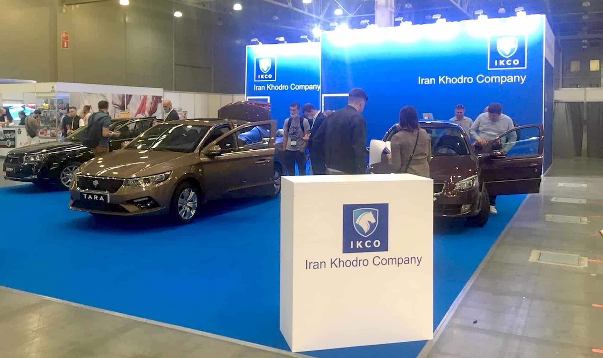 iran khodro lineup