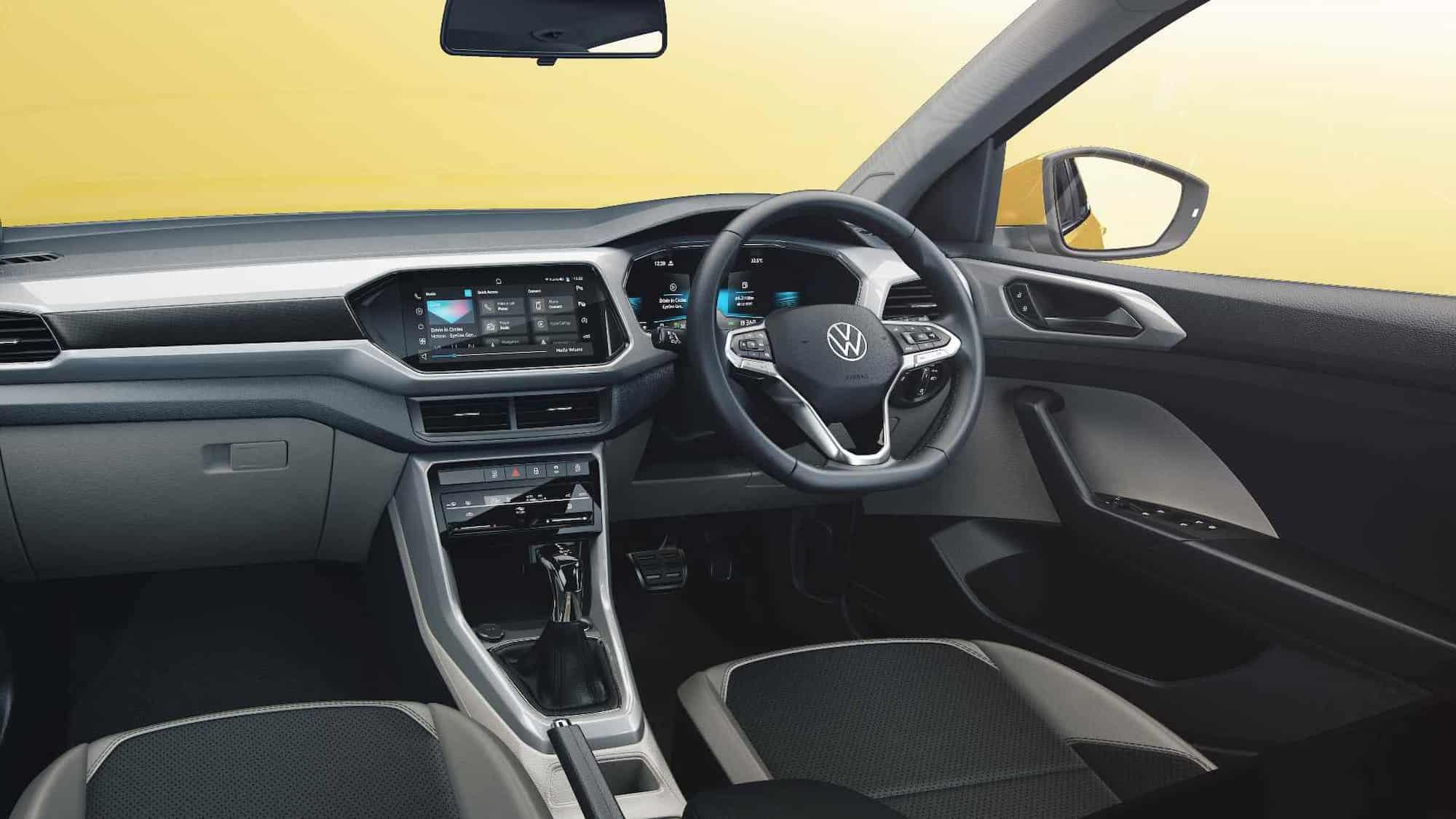 volkswagen taigun interior revealed ahead of launch 1