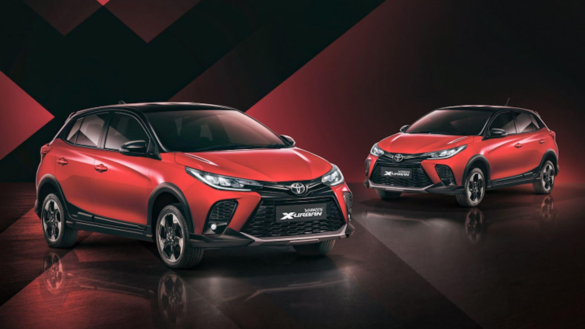 2021 Toyota Yaris X Urban Thailand 3 768x432 1